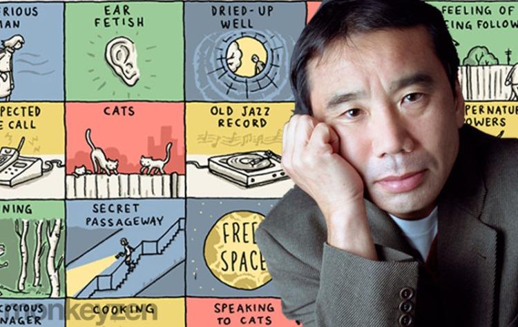 bingo-haruki-murakami-monkeyzen-retrato-autor